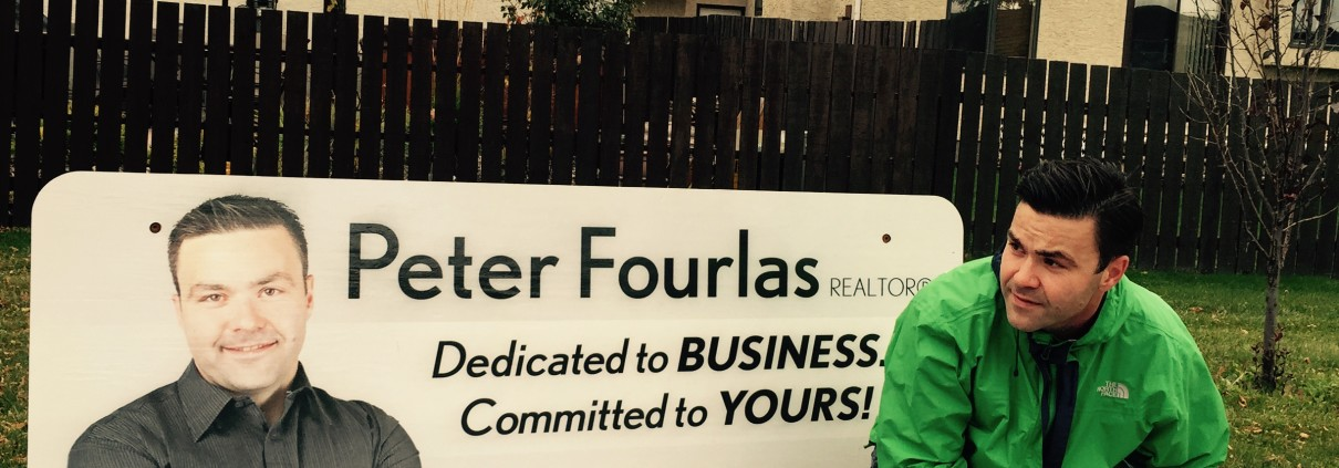 Peter Fourlas Bus Bench