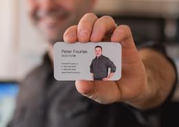Peter Fourlas Business Card